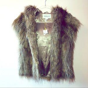 BCBG | Faux Fur Vest